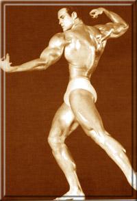 """Стив на конкурсе """"Мистер Вселенная"""" в Лондоне, 1948 год."""
