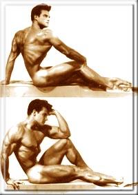 Классическое телосложение - посмотрите на талию Стива
